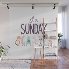The Sunday Scaries Wall Mural
