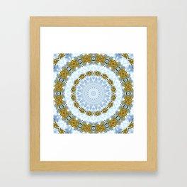 Spring Guirlande Framed Art Print