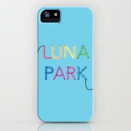 LUNA PARK- multi strong iPhone Case