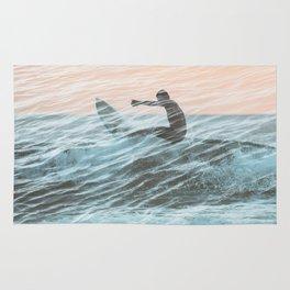 Surfer Overlap Rug