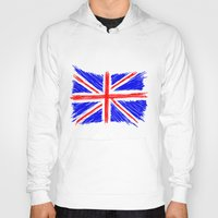 flag Hoodies featuring Flag by Svetlana Sewell