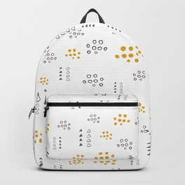 Pattern design with dots Backpack