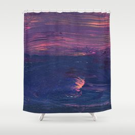 Beyond These Shores Shower Curtain