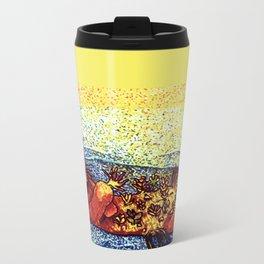 Terrarium Otter Metal Travel Mug