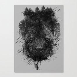 Young Predator Canvas Print
