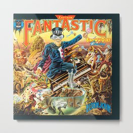 Captain Fantastic and the Brown Dirt Cowboy Deluxe Edition by John Elton Metal Print