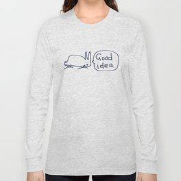 Good idea RABBITS TALKING Long Sleeve T-shirt