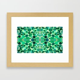 Wooden You Like To Know Framed Art Print