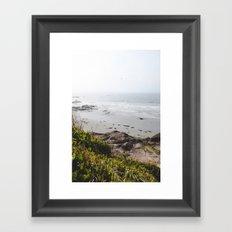 Coast + Fog Framed Art Print