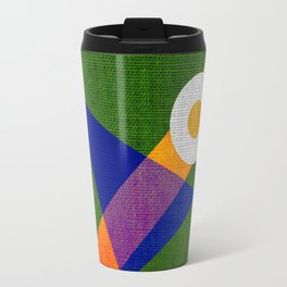 Abstract pattern Contemporary Travel Mug