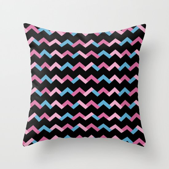 Geometric Chevron Throw Pillow