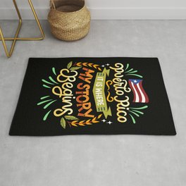 Puerto Rico - It is where my story begins Rug