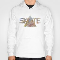 skate Hoodies featuring SKATE by Novus.