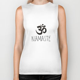 Namaste Biker Tank