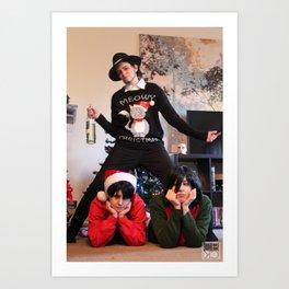 20151122 Family Christmas Art Print