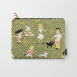 Summer Family Cookout Carry-All Pouch