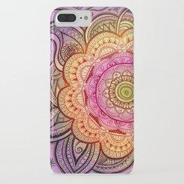Colorful Mandala iPhone Case