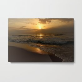 Sunrise at Marina Metal Print