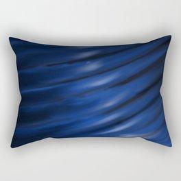 Blue Blur Rectangular Pillow