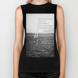 Proverbs 3 Nautical Biker Tank