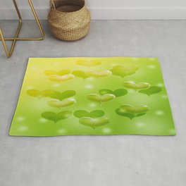 sweethearts green Rug