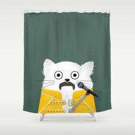 Cat Freddie Shower Curtain