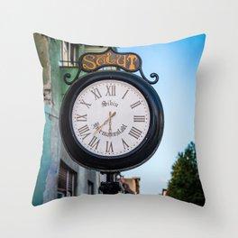 19:29 In Sibiu Throw Pillow