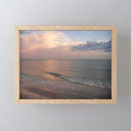 Sanibel Sunset Framed Mini Art Print