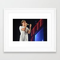 niall horan Framed Art Prints featuring Niall Horan by Halle