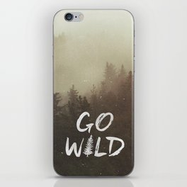 Go Wild iPhone Skin