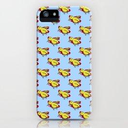 Yellow Dead Bird iPhone Case