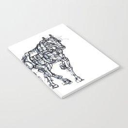 mechanical horse Notebook