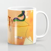 mermaids Mugs featuring Mermaids by Leah Gonzales