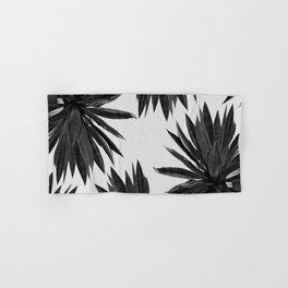 Agave Cactus Black & White Hand & Bath Towel