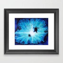Turtle Tempo Framed Art Print