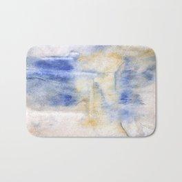 Peach blue Bath Mat