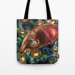 Jellyfishy Evening Tote Bag