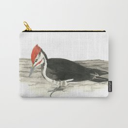 Pileated Woodpecker - Watercolor Carry-All Pouch