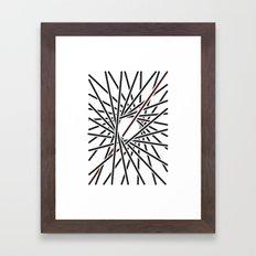 Obliquity 5 Framed Art Print