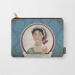 Jane Austen said... Carry-All Pouch