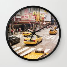 New York, New York Wall Clock