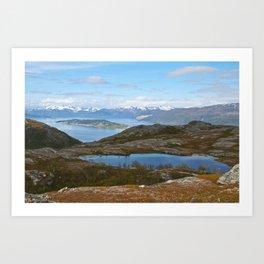 Kvaenangsfjord, Norway Art Print