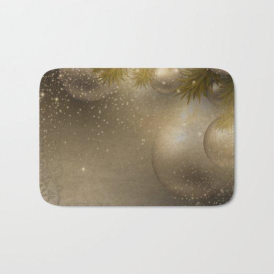 Gold ornaments Bath Mat