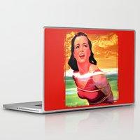 bondage Laptop & iPad Skins featuring Beach Blanket Bondage by sasha alexandre keen