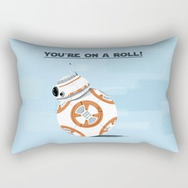 You're on a roll! Rectangular Pillow