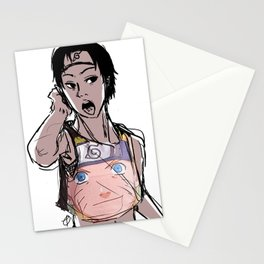 Sai's Favorite Crop Top  Stationery Cards