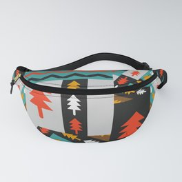 Christmas collage Fanny Pack