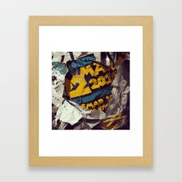 Uber Framed Art Print