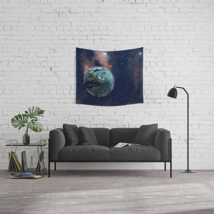 Beyond Infinity | Vacation Planet Wall Tapestry