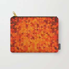 Abstract color mosaic Carry-All Pouch